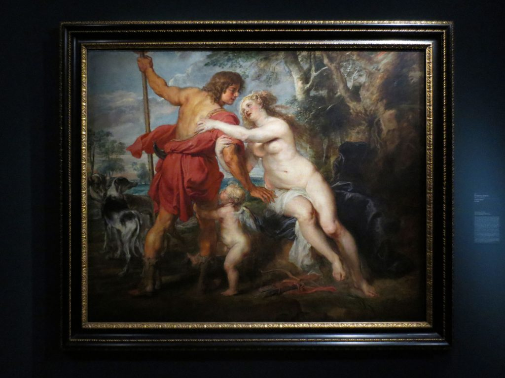 Peter Paul Rubens, Venus and Adonis, ca. 1635, The Metropolitan Museum of Art, New York