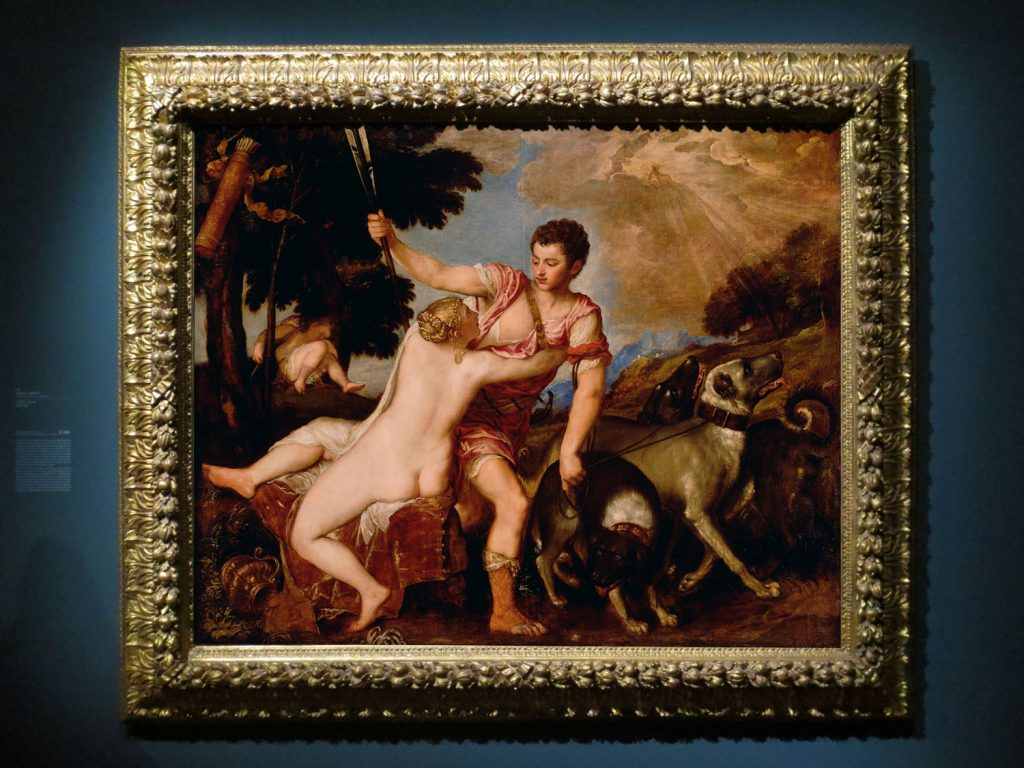 Titian, Venus and Adonis, 155-50, J. Paul Getty Museum, Malibu