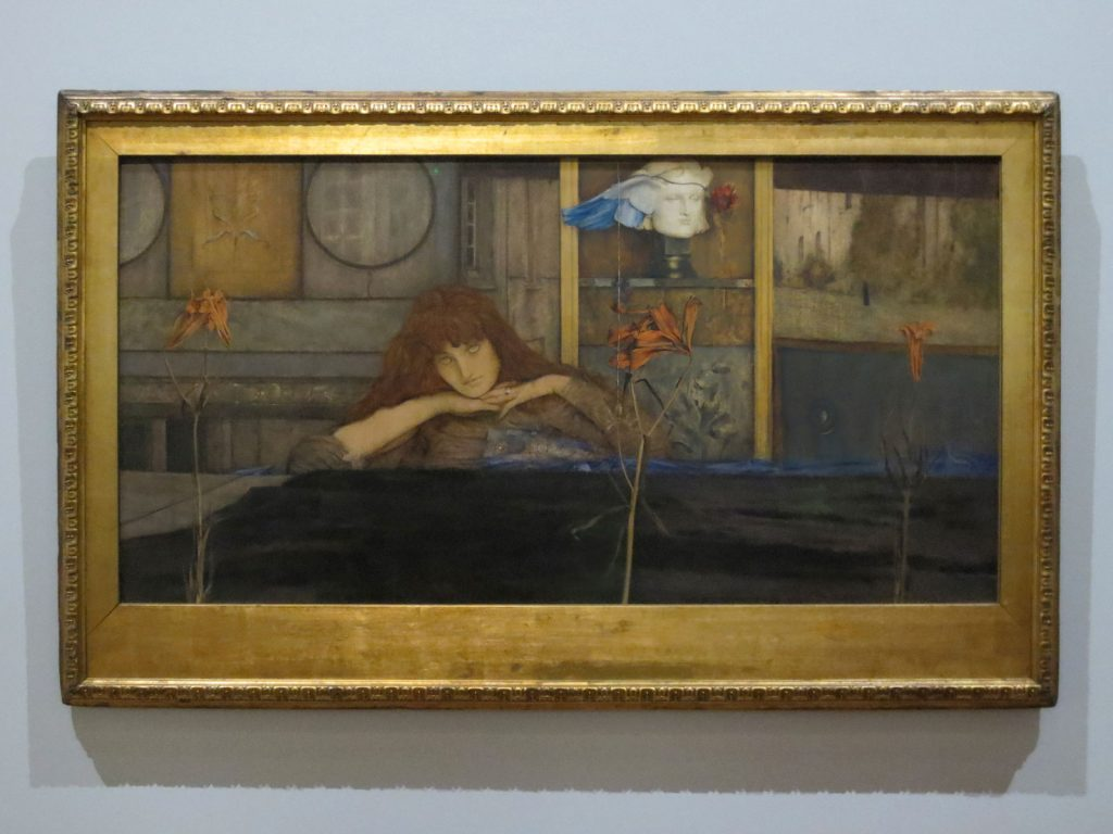 Fernand Khnopff, I Lock My Door upon Myself, 1891