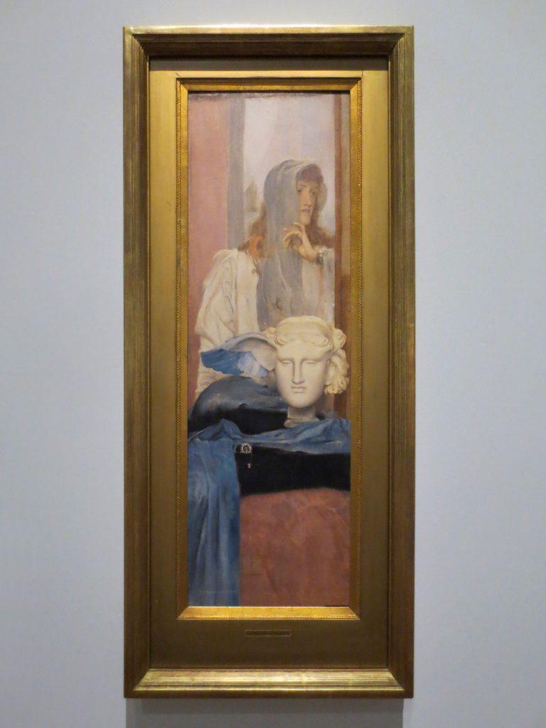 Fernand Khnopff, Un aile bleue, 1894