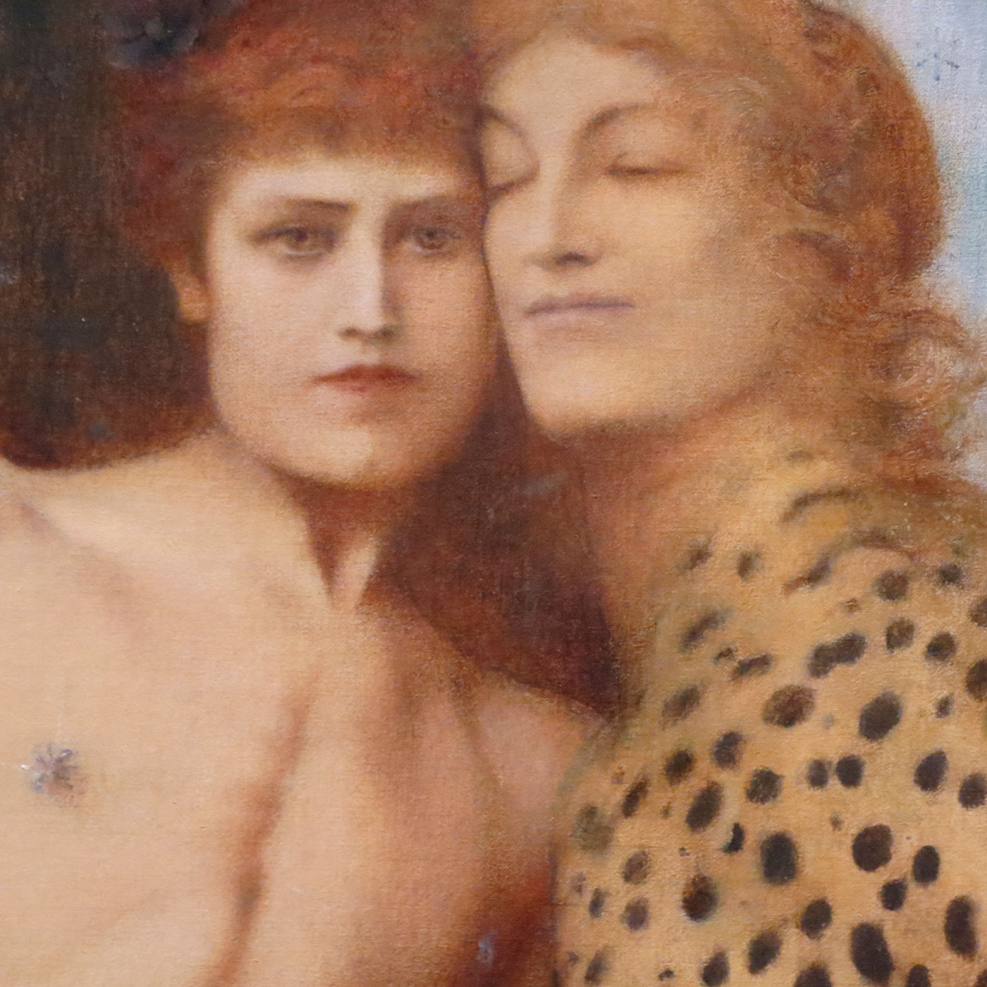 Fernand Khnopff, Les caresses