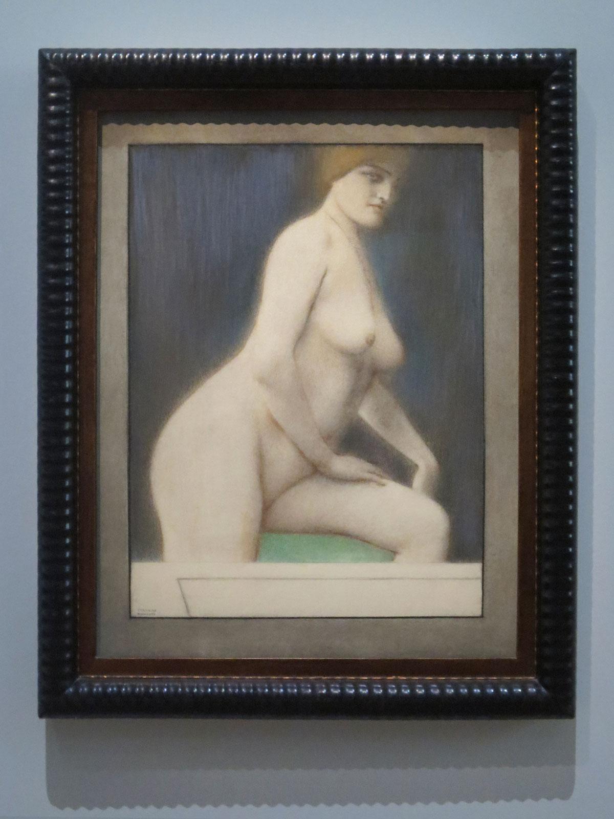 Fernand Khnopff, Déchéance, 1914