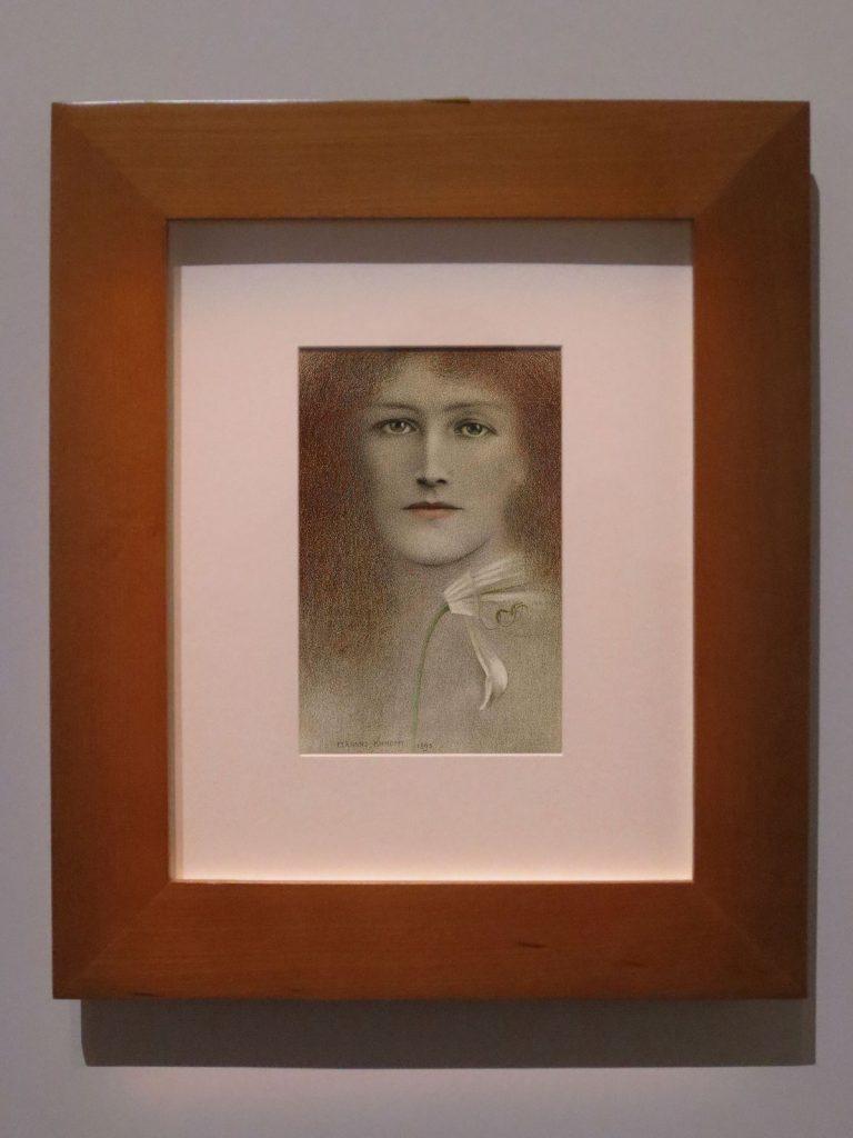 Fernand Khnopff, Diffidence ou La Défiance, 1894