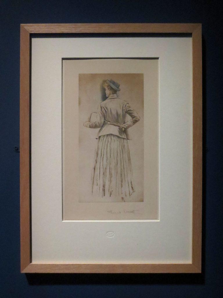 Fernand Khnopff, Étude pour Memories, 1888