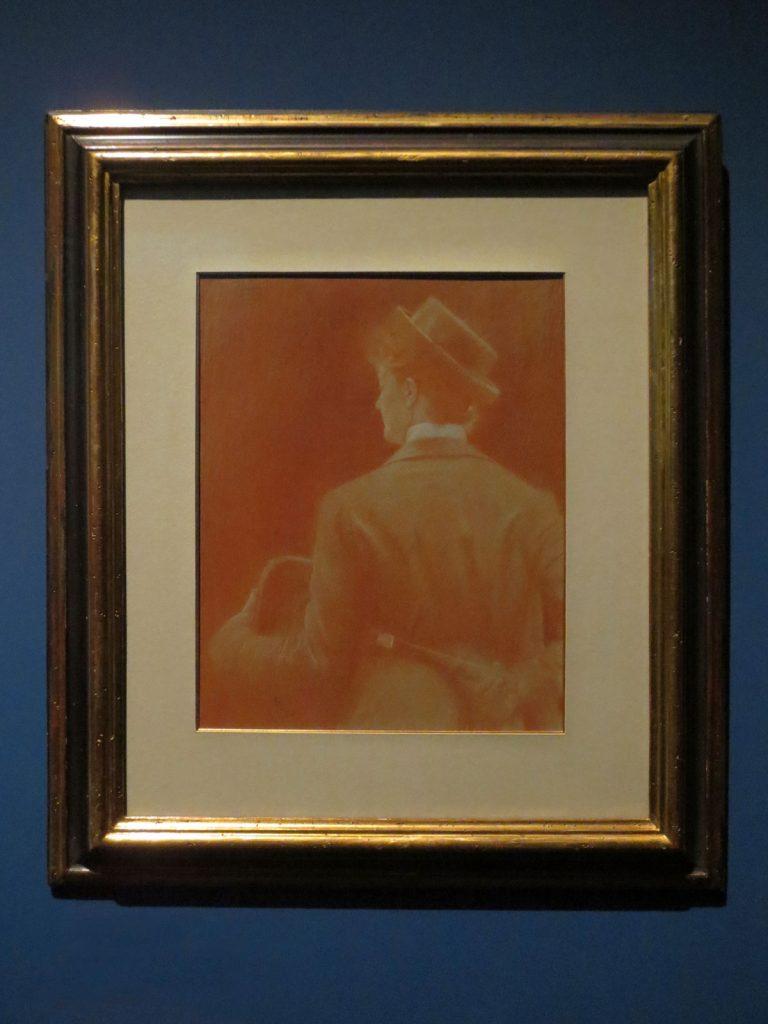 Fernand Khnopff, Étude pour Memories, 1887