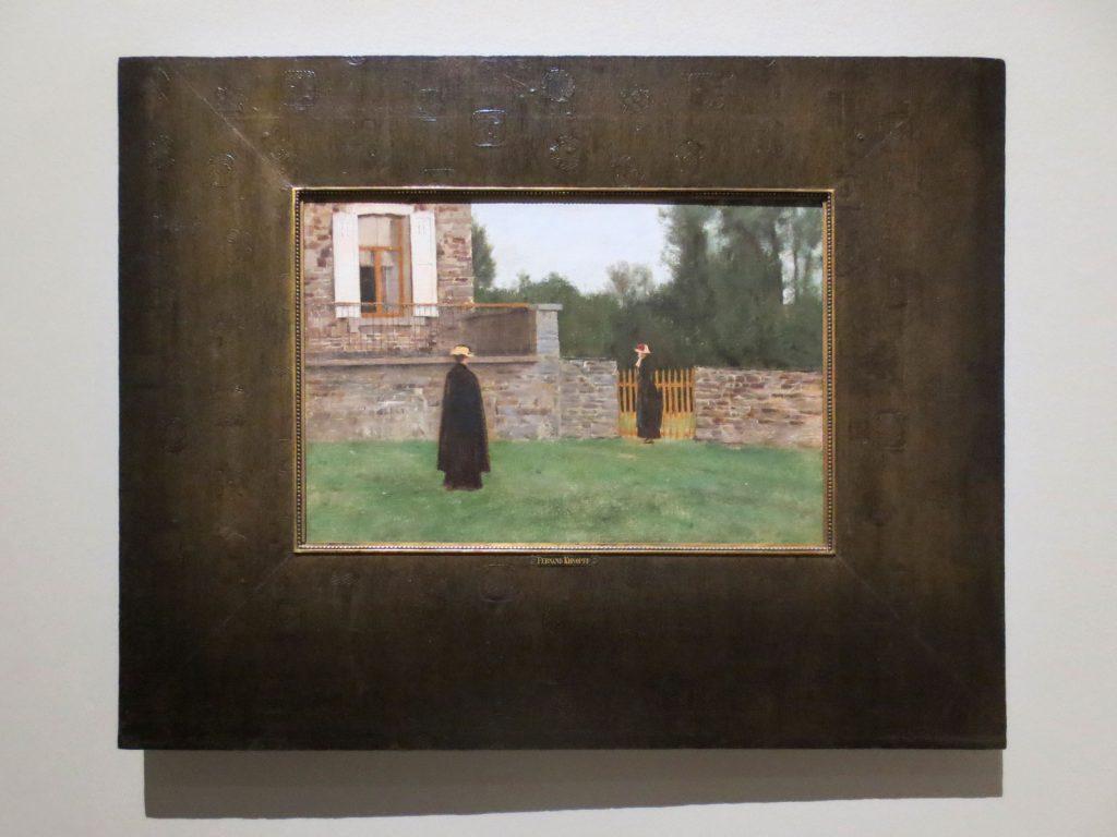 Fernand Khnopff, À Fosset. Un soir