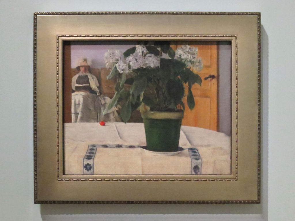 Fernand Khnopff, Un Hortensia