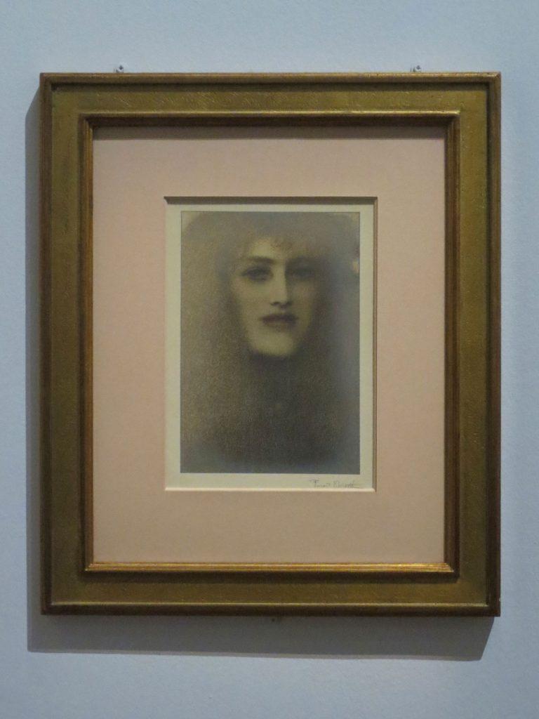 Fernand Khnopff, Les Lèvres rouges, 1897
