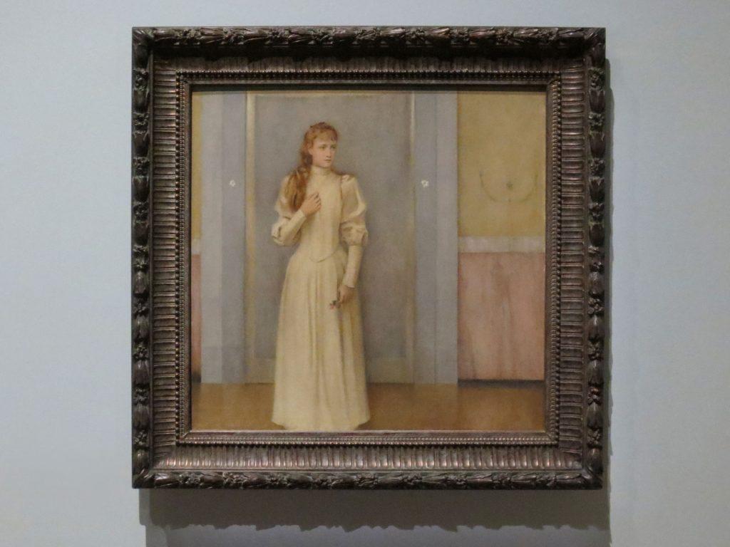 Fernand Khnopff, Marguerite Landuyt, 1889