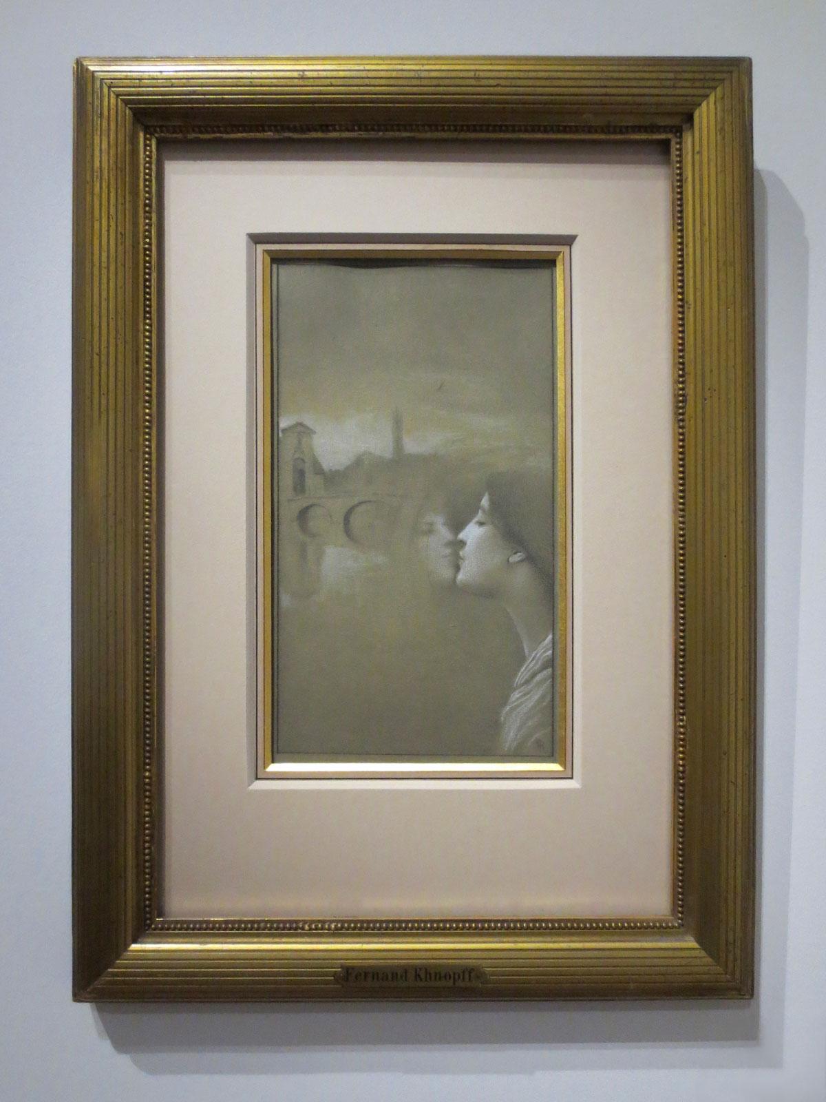 Fernand Khnopff, Avec Grégoire de Roy. Mon coeur pleure d'autrefois, 1889