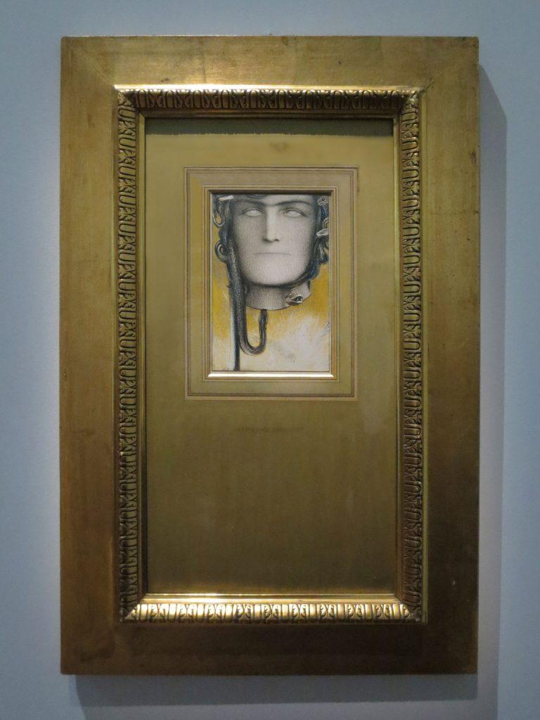 Fernand Khnopff, Le Sang de Méduse, 1898