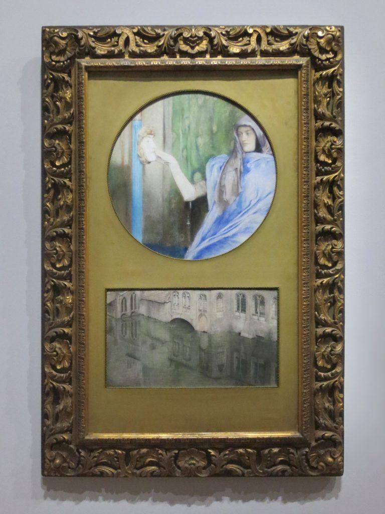Fernand Khnopff, Secret-reflet, 1902