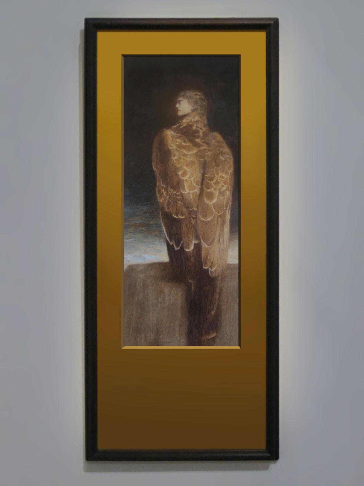 Fernand Khnopff, La Méduse endormie, 1896