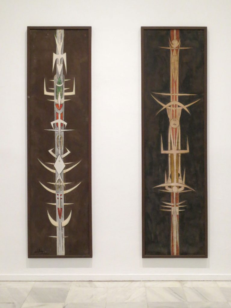 Wifredo Lam, Totems to the Moon