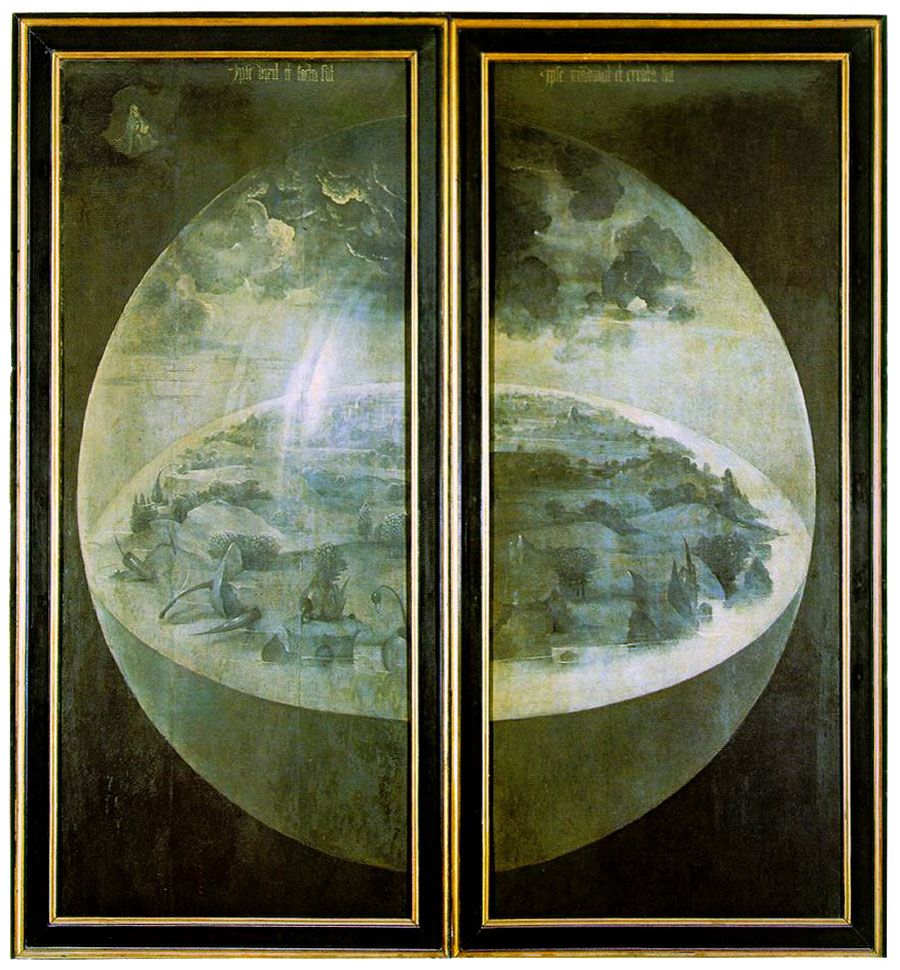 Hieronymus Bosch, The Garden of Earthly Delights, Shutters