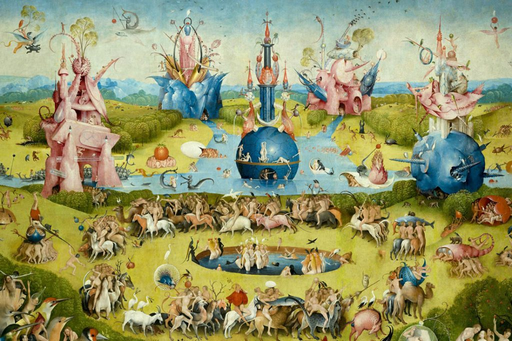 Hieronymus Bosch, The Garden of Earthly Delights, Main Panel