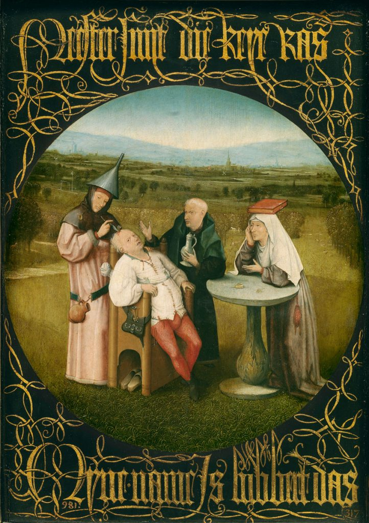 Hieronymus Bosch, The Extraction of the Stone